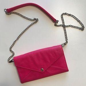 {Rebecca Minkoff} crossbody wallet on chain